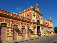 Adolpho Lisbon Municipal Market In Manaus Built 1880 1883. Manaus, Amazon-Brazil