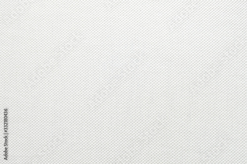 Photo White fabric close up shot of Cotton and polyester Polo shirt