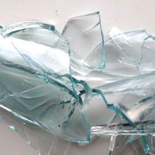 Glass Transparent Bottle On A ...