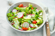 Fresh Vegetable Salad Bowl Clo...