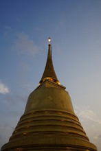 Important Places In Thailand The Golden Mount  At Sra Ket Temple Is A Popular Temple In Bangkok
