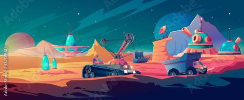 Fényképezés Planet colonization and space mining, research