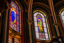 Stained Sglass Windows Of Sain...