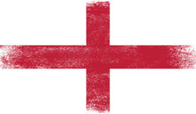 England,flag With Grunge Texture