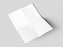Sheet Of Paper Folded To Four....
