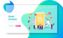 Viral Content Landing Page Tem...