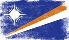 Marshall Islands Flag With Gru...