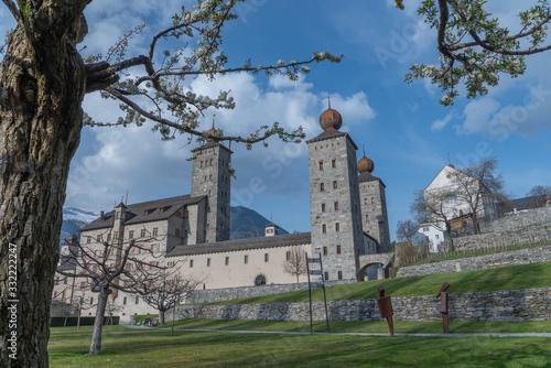 Cuadros en Lienzo Stockalperschloss, switzerland, brig
