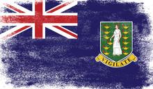 Virgin Islands Uk Flag With Gr...