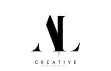AL A L Letter Logo With Creati...