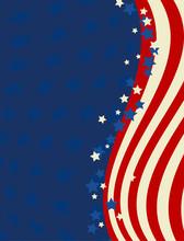 American Flag Patriotic Backgr...