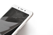 Mobile Phone With A Broken Pro...