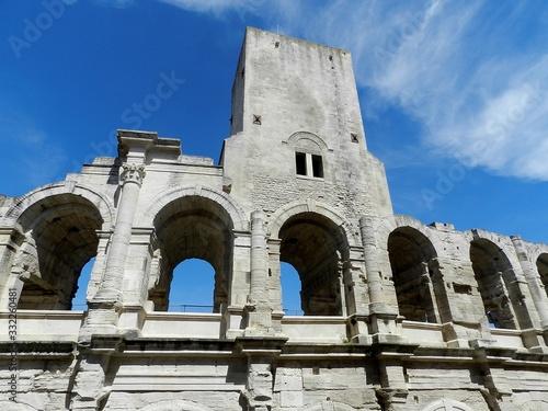 Fototapeta Arles, France, Roman Arena