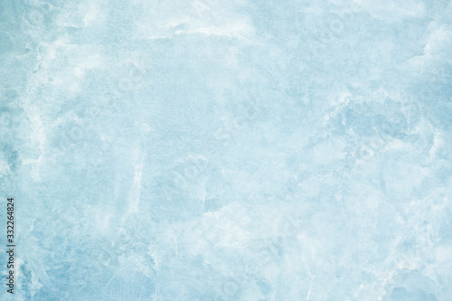 Blue marble texture background Canvas Print