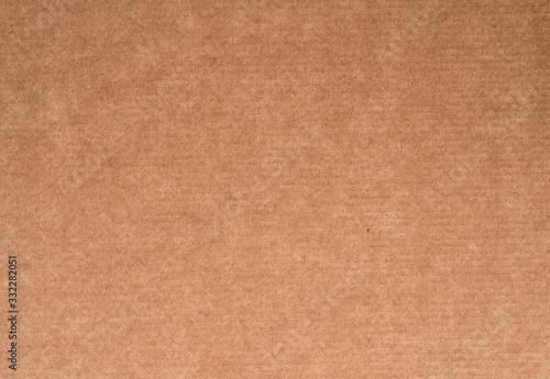 Cardboard paper texture, brown carton material surface