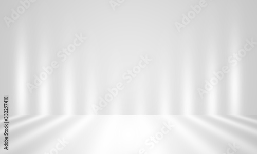 Photo abstract background for product show with Elegant light , gray and white abstract