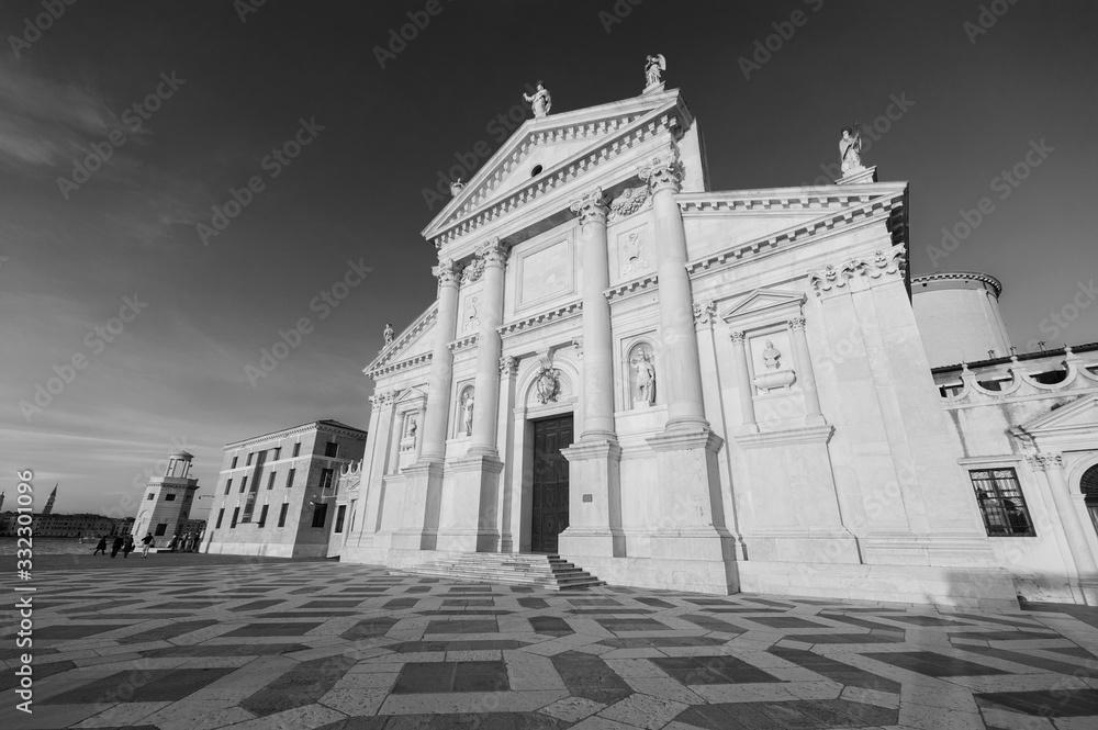 Fototapeta Historical landmark San Giorgio Maggiore Church in Venice, Italy, Europe