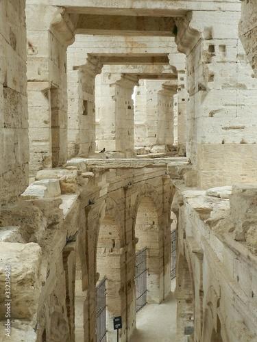Arles, France, Roman Arena, Interior Wallpaper Mural