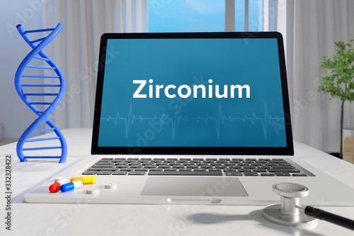 Fotografia, Obraz Zirconium – Medicine/health