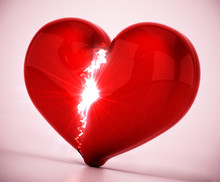 Broken And Shattered Heart Iso...