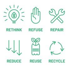 Rethink, Refuse, Repair, Reduc...