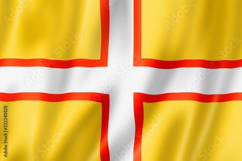 Fotografiet Dorset County flag, UK