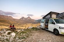 Campervan In Montenegro Europe