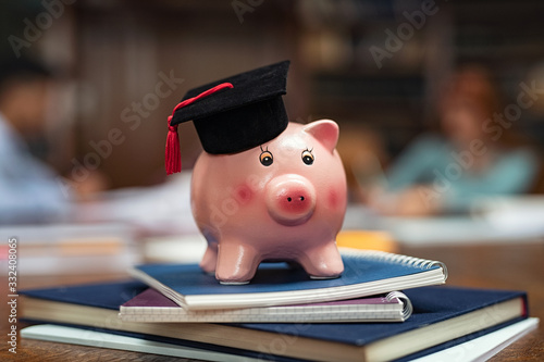 Photo Student loan concept