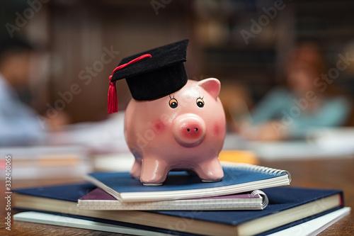 Fototapeta Student loan concept obraz