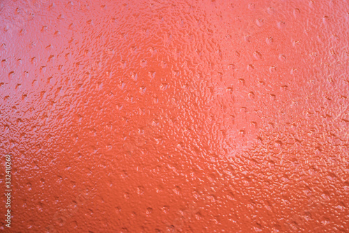 Orange peel surface details Canvas Print