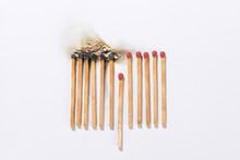 Burning Matchsticks For Social...