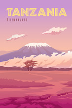 Tanzania The Volcano Kilimanjaro