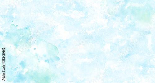 Carta da parati 水のイメージ背景、水彩テクスチャ