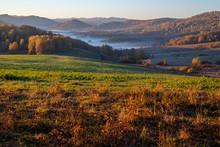 The Morning Sun Illuminates Th...