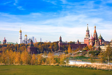 Panoramic View Of Moscow Kreml...
