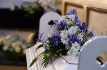 Modest Flower Arrangement On A...