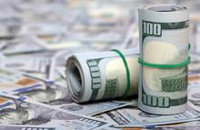 Dollars In Roll On Money Back...