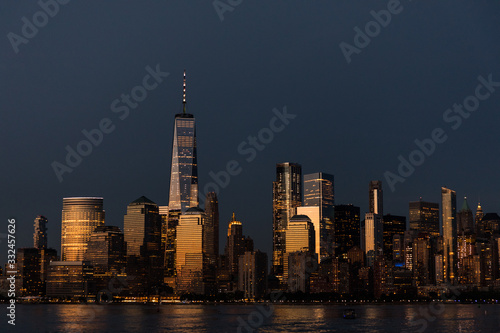 Fototapeta panorama miasta obraz