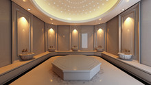 Turkish Hamam, Bath Modern Con...