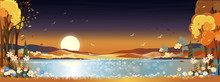 Fantasy Panorama Landscapes Of...