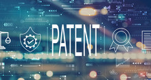 Patent Concept With Blurred Ci...