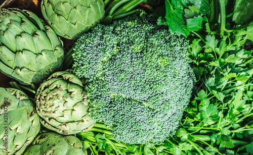 healthy vegetables Canvas Print