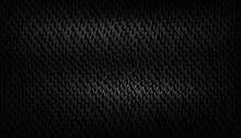 Black Background With Realistic Snake Skin Texture, Black Serpent, Viper, Fish Or Lizard Scales Texture, Minimalist Dark Themed Background