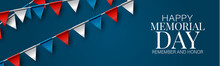 Memorial Day Banner, Website O...
