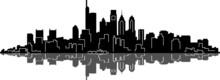 PHILADELPHIA City Skyline Silh...