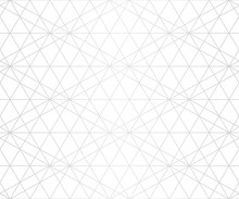 Silver Lines Pattern. Vector G...
