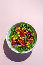 Fresh Lettuce Salad With Cherr...