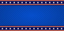 USA Patriotic Banner Backgroun...