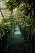 Narrow Metal Bridge Going Thro...