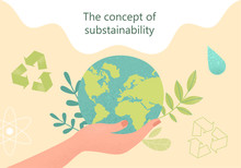 Concept Of Sustainability Or E...